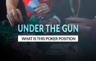 What is UTG under the gun poker position in poker?